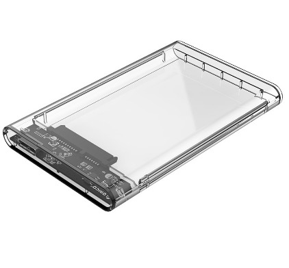 ORICO ENCLOSURE 2.5' USB3.0 SATA (2139U3-CR) TRANSPARENT