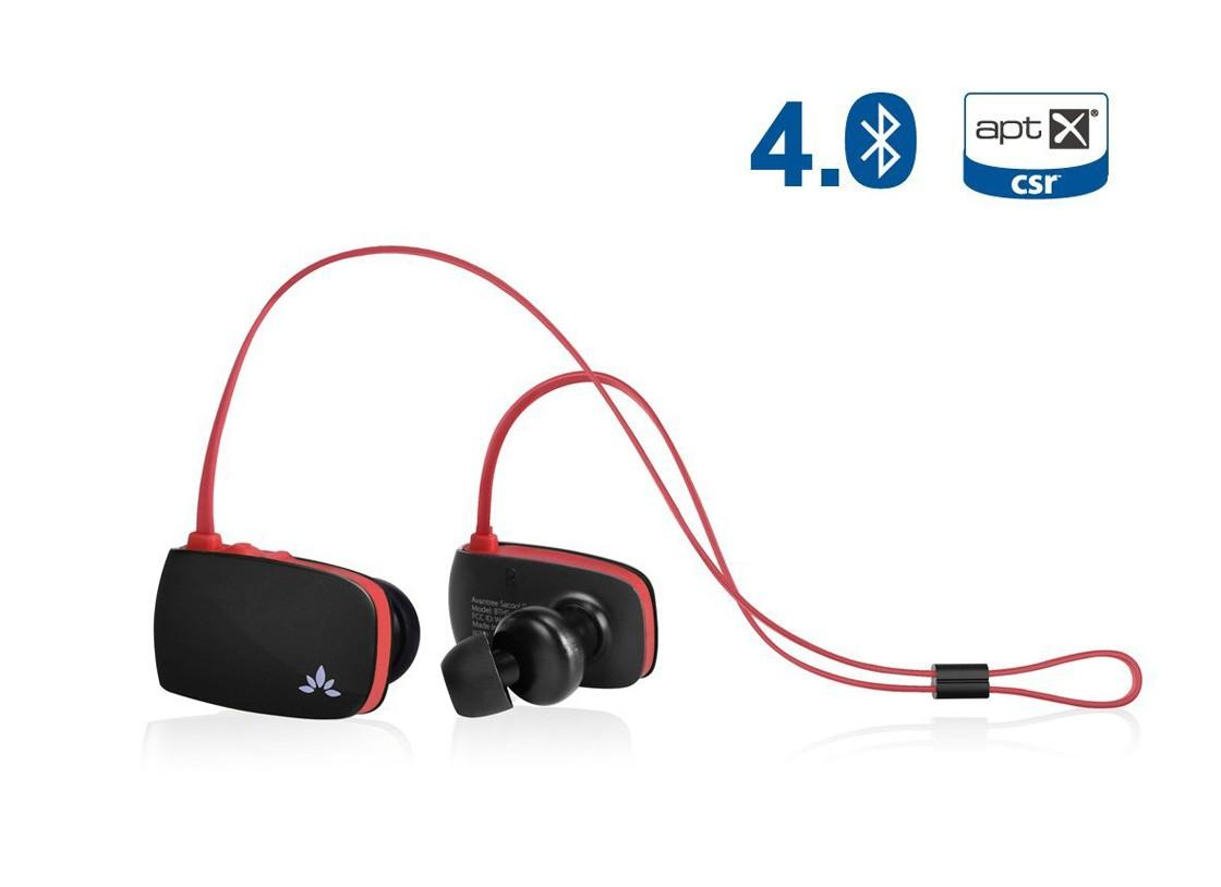 ORIGINAL Avantree Sacool pro Gym Sport Bluetooth 4.0 Headphones ~aptX