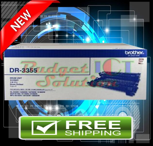 ORIGINAL BROTHER DR-3355 Drum 5440 8510 8910 DR 3355 (FREE SHIPPING)