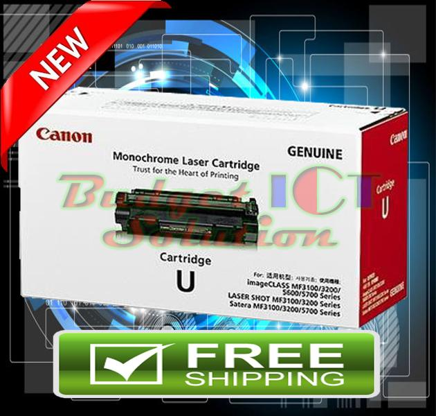 ORIGINAL CANON CARTRIDGE U BLACK Toner (FREE SHIPPING)