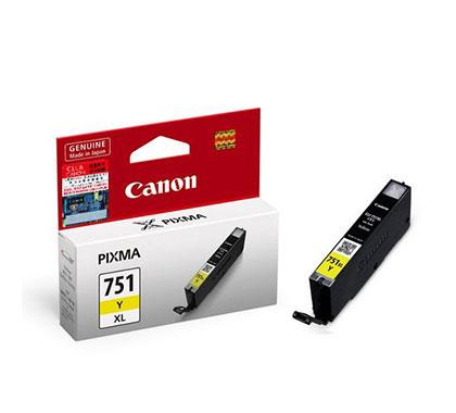 Original Canon CLI-751XL Yellow Ink Cartridge Canon Pixma iP7270