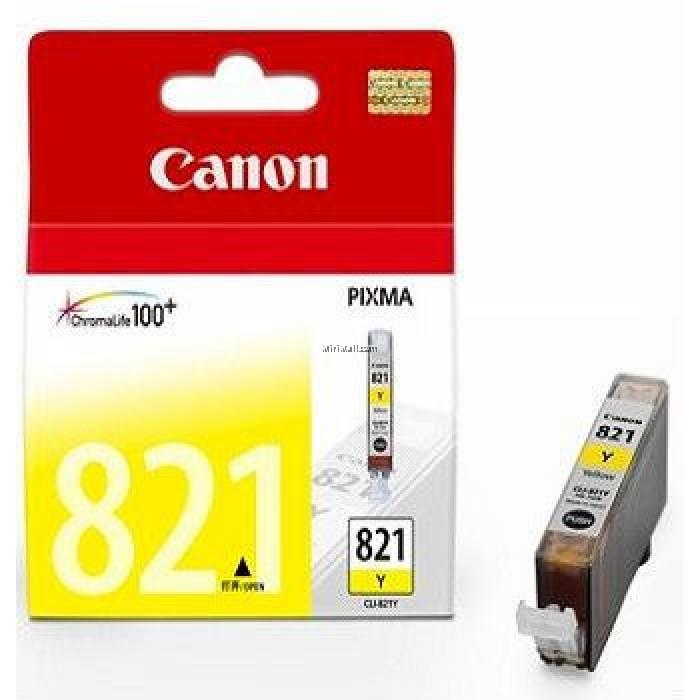 Original Canon CLI-821 Yellow Ink Cartridge Canon Pixma iP3680