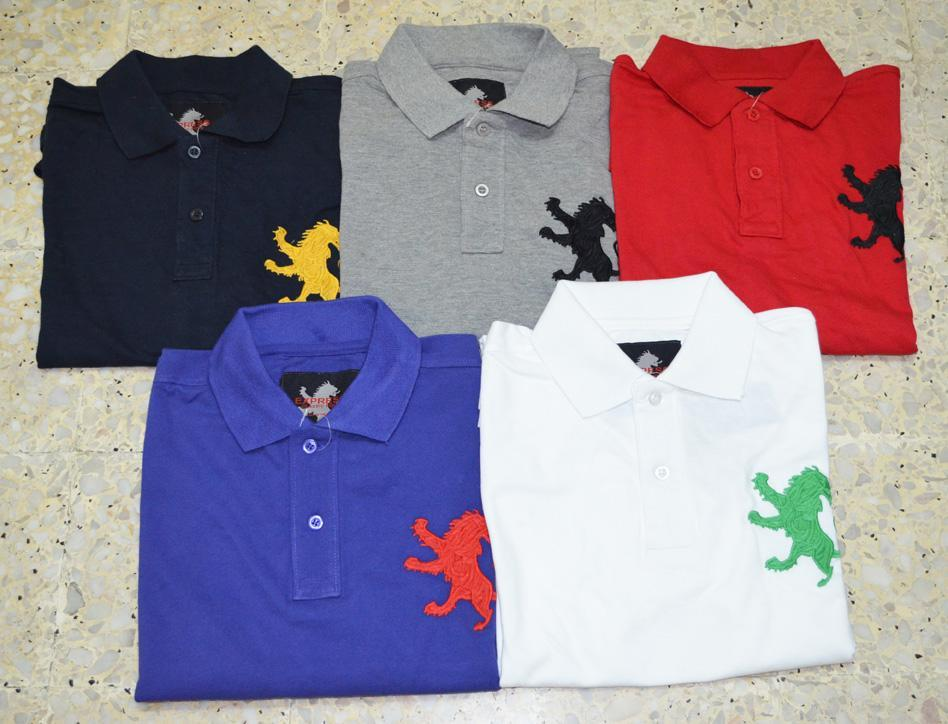 Polo T Shirt With Lion Logo Image Of Lion And Antique Sgimage Co