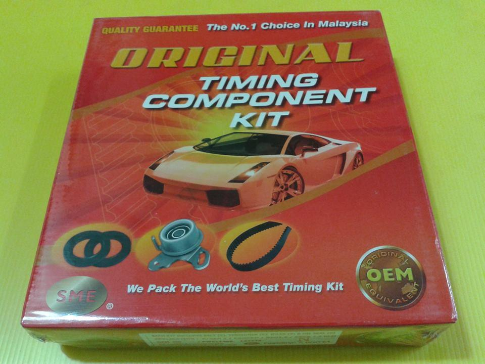ORIGINAL GATES TIMING BELT KIT FOR PROTON CAMPRO ENGINE
