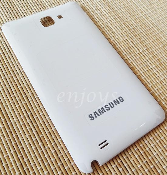 ORIGINAL HOUSING Battery Cover Samsung Galaxy Note 1 N7000 I9220 ~WHT