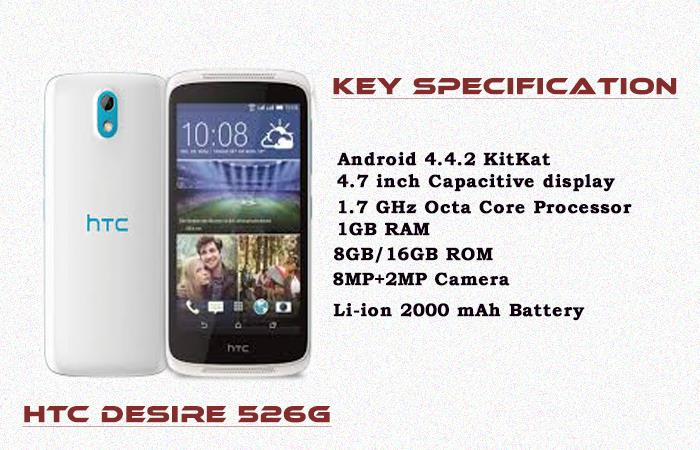 "(ORIGINAL) HTC MALAYSIA WARRANTY HTC Desire 526G Plus 4.7"" 8MP"