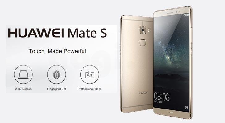 (ORIGINAL) HUAWEI WARRANTY Huawei Mate S LTE Octa 2.2GHz 13MP 3+64GB