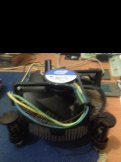 Used Original Intel LGA1150 /1155 /1156 H Sink Fan (Free Post For 2)