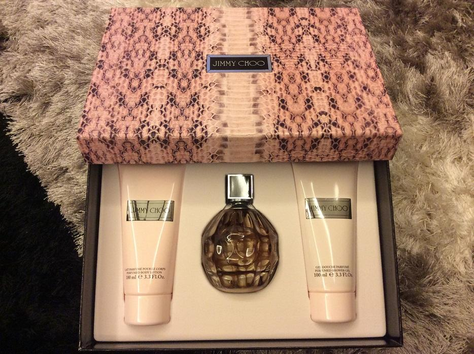 ORIGINAL Jimmy Choo EDP 100ML Perfume Gift Set