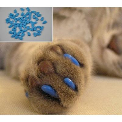 Original L Small Clear Natural Soft Claws Paws Nail Caps for Cats&Dog