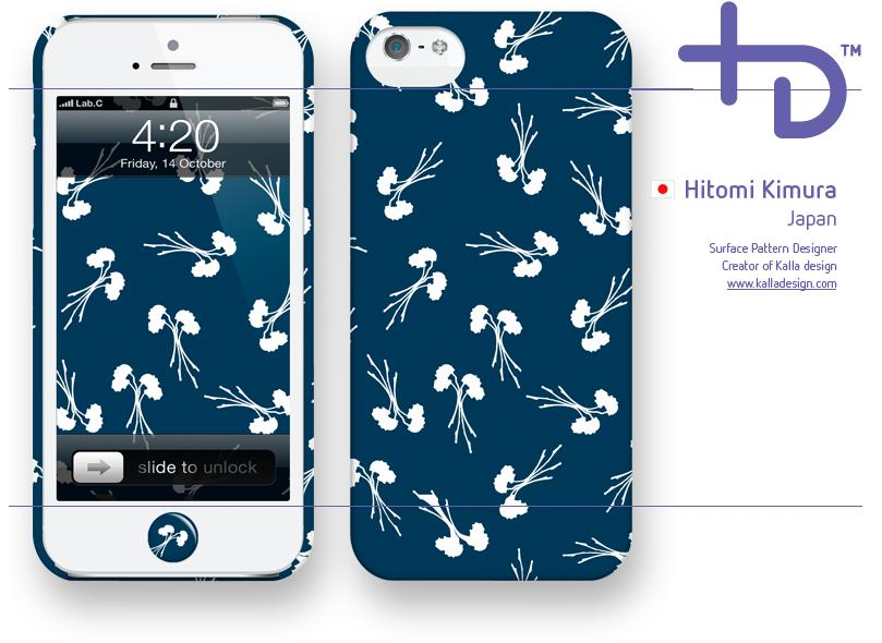 Original LAB C iPhone 5/5s casing Flower Design