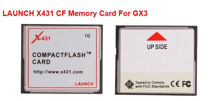 Original LAUNCH X431 CF Memory Card For GX3 X431 Master