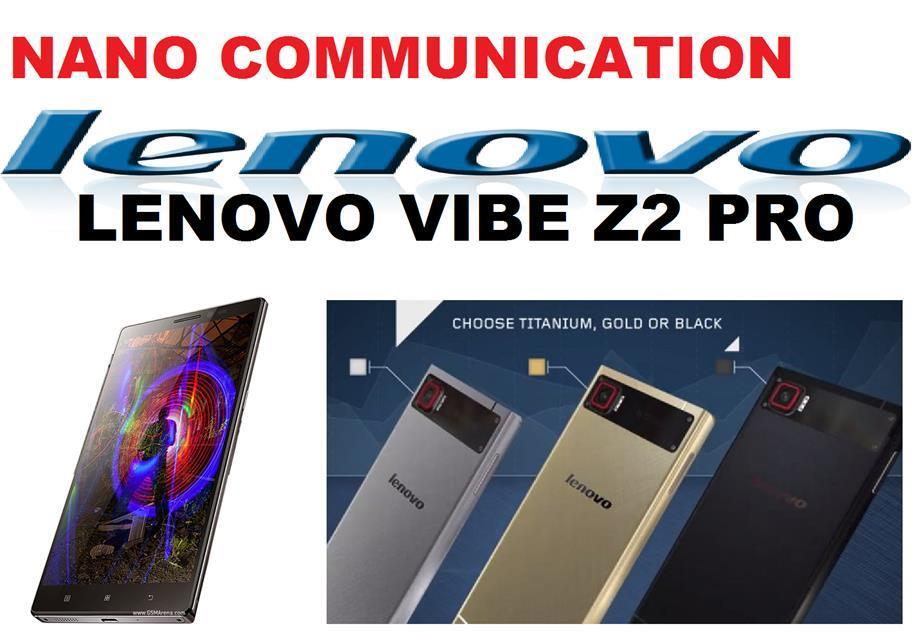 "(ORIGINAL) LENOVO WARRANTY Lenovo Vibe Z2 Pro K920 LTE 3+32GB 6"" 16MP"