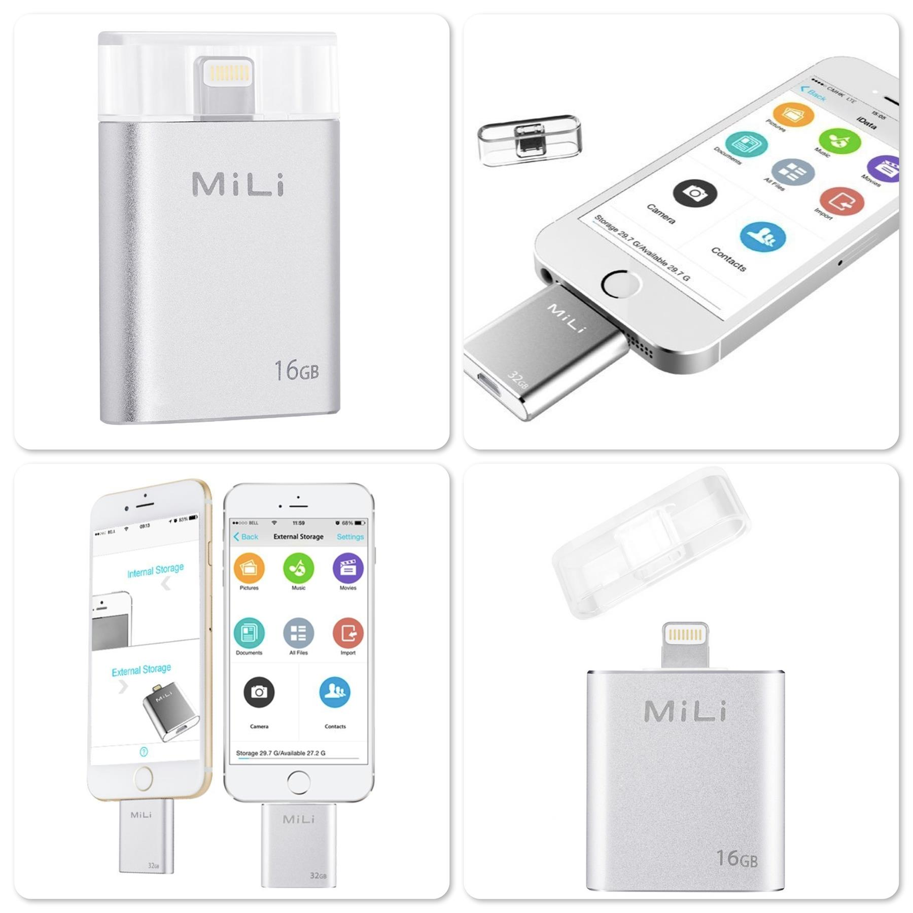 Original Mili iData HI-D91 USB Flash Drive with MFi for iOS