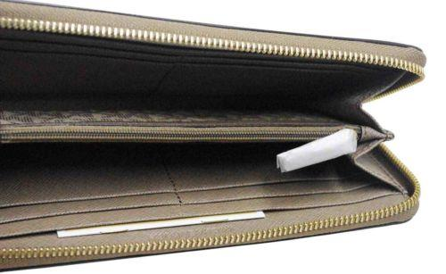 Original MK Jet Set Travel Saffiano Leather Continental Wallet