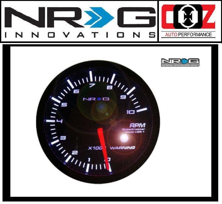 [ORIGINAL] NRG HIGH PERFORMANCE GAUGES RPM METER