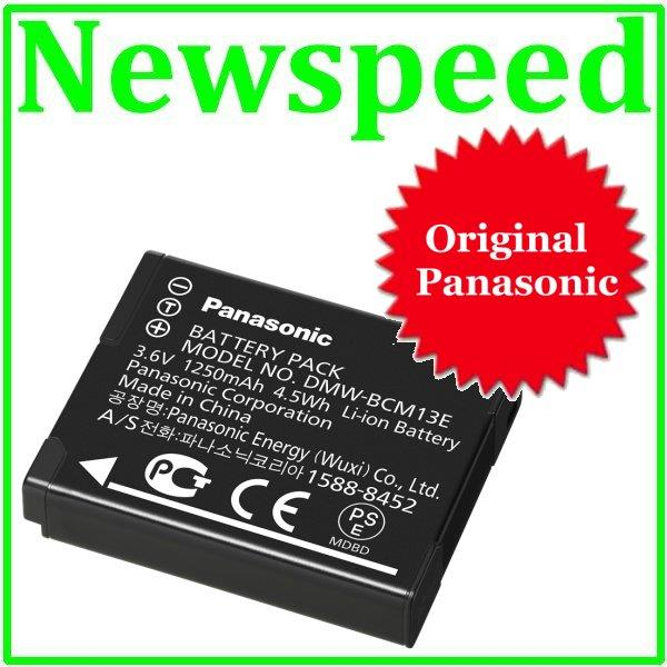Original Panasonic DMW-BCM13 Battery for Panasonic TS5 FT5 TZ55 TZ40
