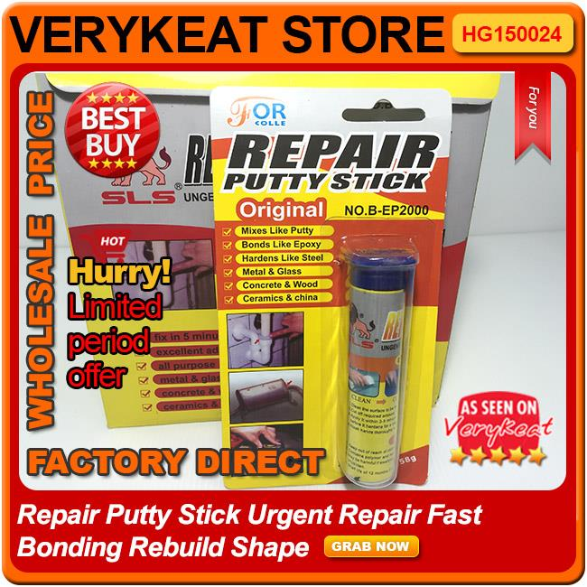 Original Repair Putty Stick Urgent Repair Fast Bonding Rebuild Shape