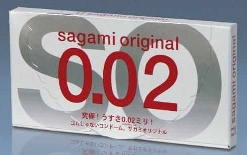 ORIGINAL SAGAMI 0.02 (Non-Latex/ Extra Thin) CONDOM 2s