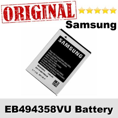 Original Samsung Galaxy Fit GT-S5670 EB494358VU Battery 1Year WARRANTY