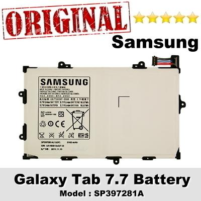 Original Samsung Galaxy Tab 7.7 GT-P6810 Battery Model SP397281A 1Y WT