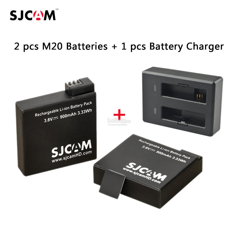 [ORIGINAL] SJCAM M20 BATTERY DUAL CHARGER