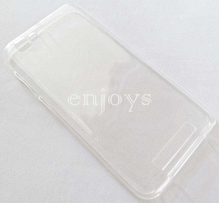 ORIGINAL Soft Jacket Silicon Plain TPU Jelly Case ZTE Blade A610 ~5.0'