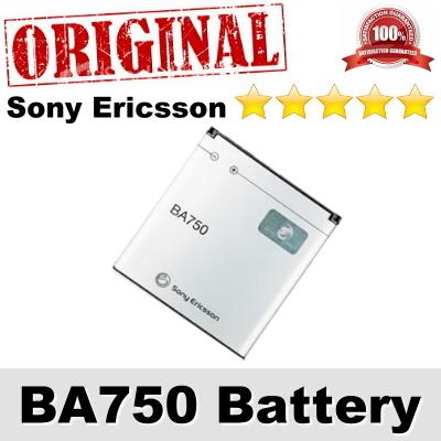 Original Sony Ericsson Xperia Arc S BA750 Battery 1Year WARRANTY
