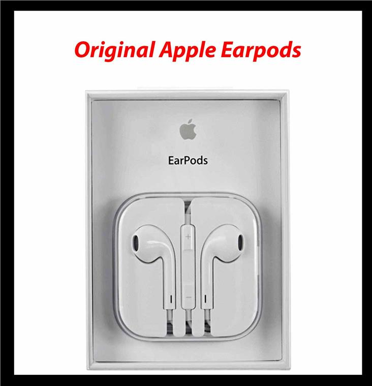 Orignal Apple EarPods Earphone with Remote and Mic for iPhone Earpod