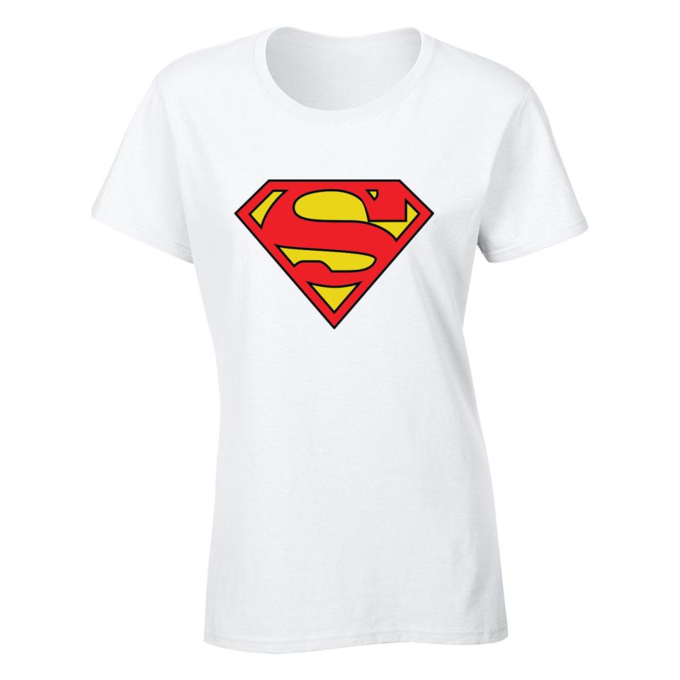 OS522F Super Hero Man Steel Female T-shirt