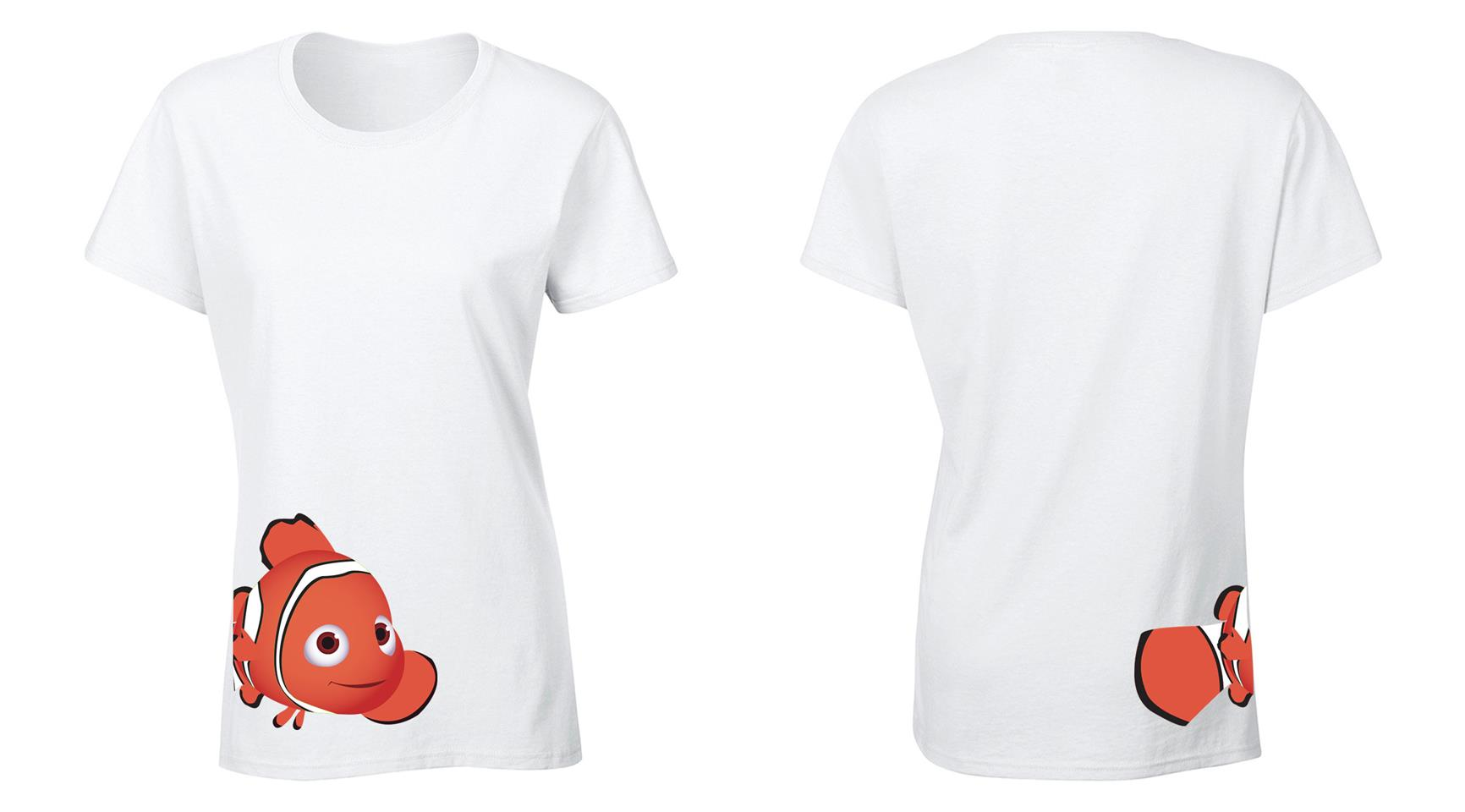 OS547F Finding Dory Female T-shirt