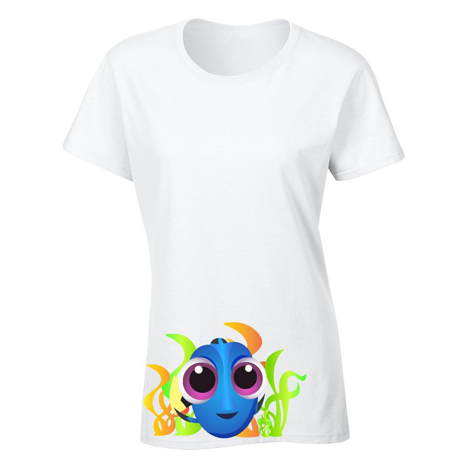 OS549F Finding Dory Female T-shirt