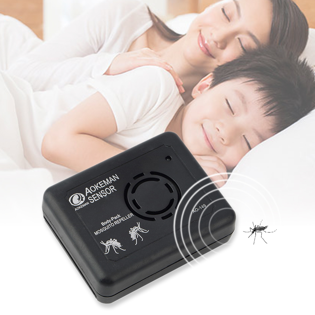 Outdoor Camping Portable Electronic Ultrasonic Anti Mosquito Insect Re..