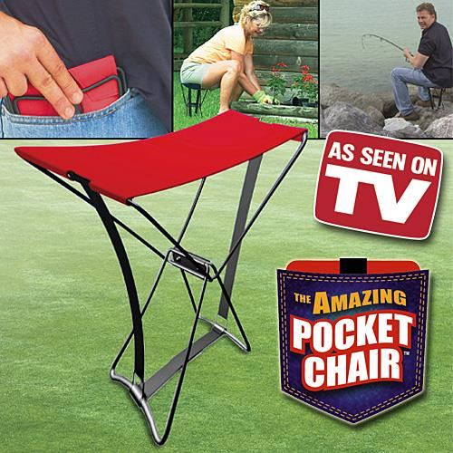 Outdoor foldable Pocket Chair
