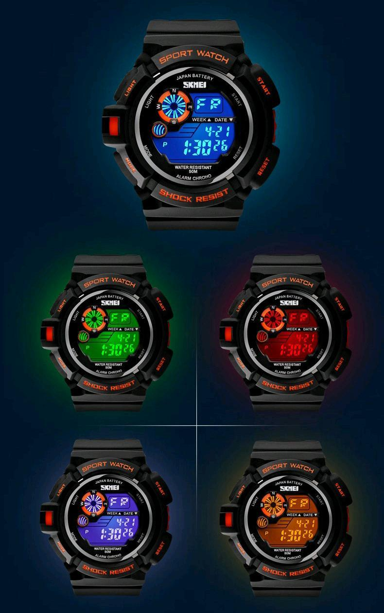 Outdoor Sports Watch Waterproof Shockproof Men Mountain Watch