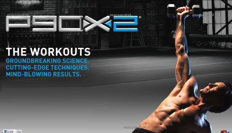NEW P90X2 - Now Even More Extreme Home Fitness Training System Ever!