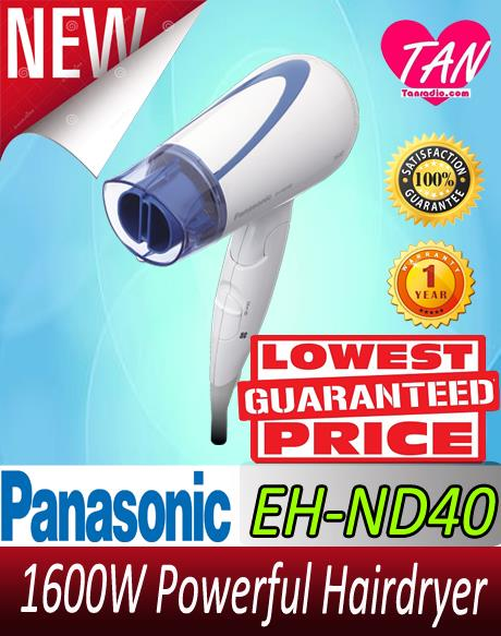 PANASONIC 1600W POWERFUL HAIRDRYER ( EH-ND40 ) **GENUINE ORIGINAL