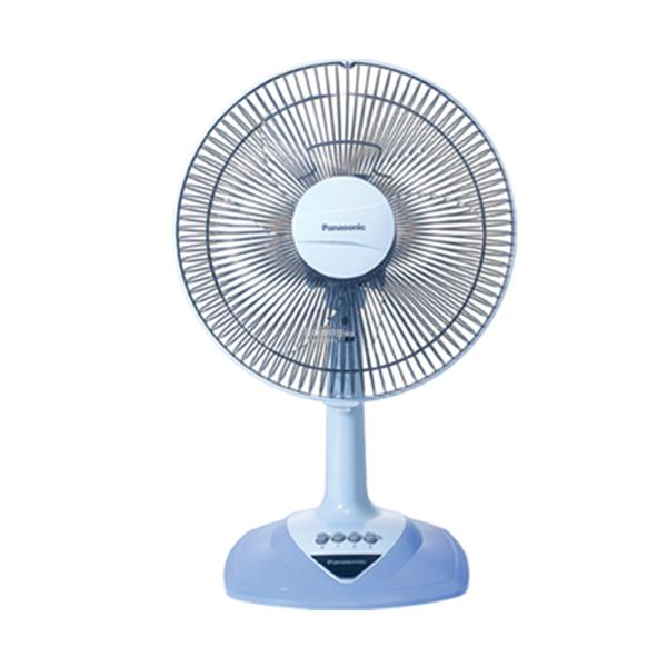 Panasonic 300mm (12 inch) 3-Speed On/Off Table Fan F-MN304 (Aqua Blue)