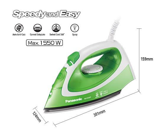 Panasonic Electric Steam Iron NI-P250T