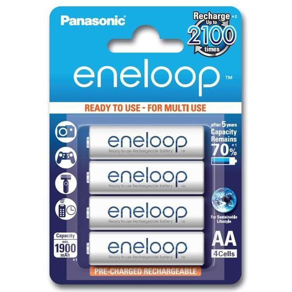 Panasonic Eneloop 2000mAh 4pcs AA Battery 2100 cycle