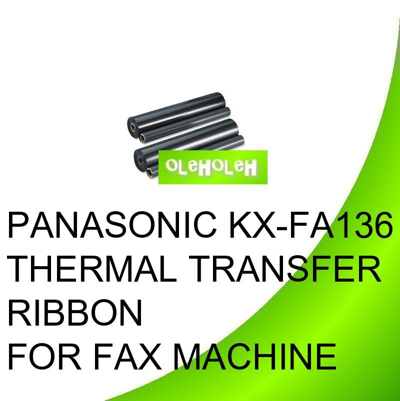 PANASONIC KX-FA136 Thermal Transfer Ribbon for Fax Machine