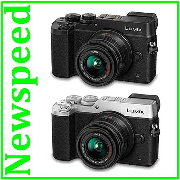 Panasonic Lumix DMC-GX8 14-42mm Digital Camera +8GB+Bag (1+1 wrty)