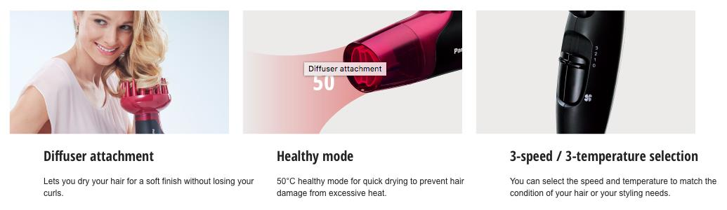 Panasonic Nanoe Hair Dryer EH-NA65