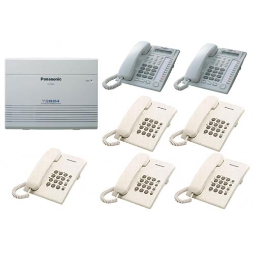 PANASONIC PABX KXTES824ML KEYPHONE SYSTEM + 8 YEARS WARRANTY