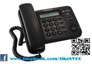 Panasonic Single Line Phone KX-TS560 (Black)
