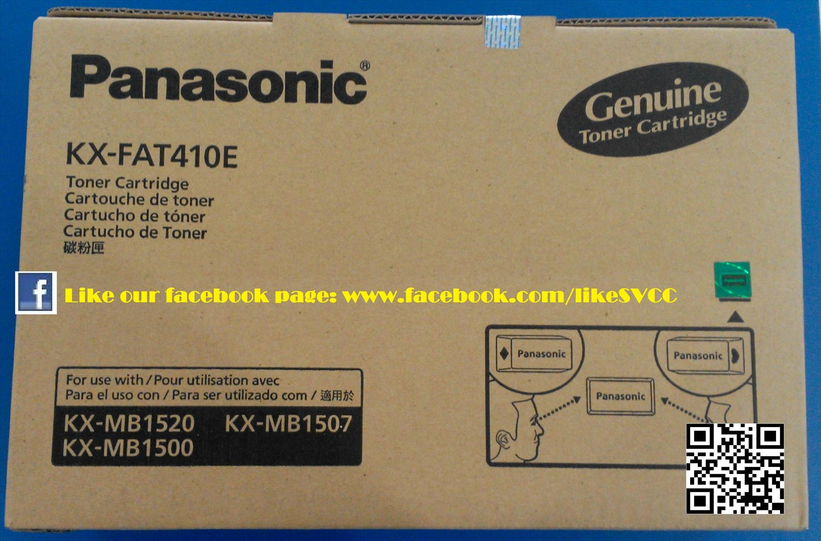 Panasonic Toner KX-FAT410 410E 1520 1507 1500 MB1500