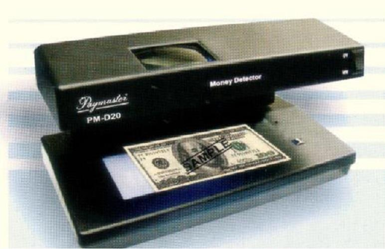 Paymaster Counterfeit Money Detector PM-D20