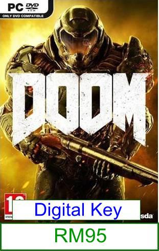 PC Doom ★Brand New & Sealed★