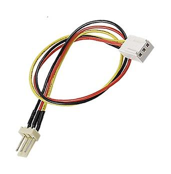 PC Fan 3 Pin Male to Female 3p Extension Power Cable