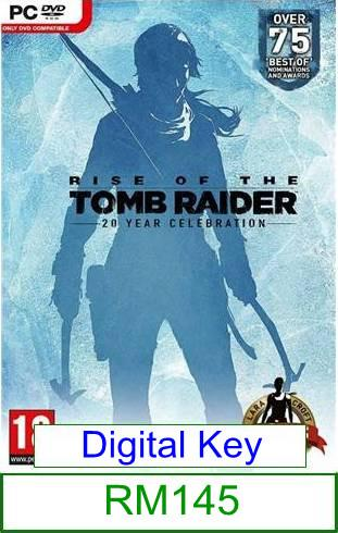 PC Rise of the Tomb Raider 20 Year Celebration ★Brand New & Seal..